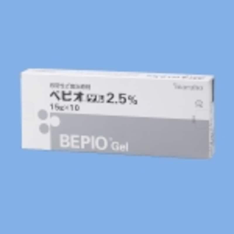 8年ぶりに登場した新薬「ベピオゲル2.5%」