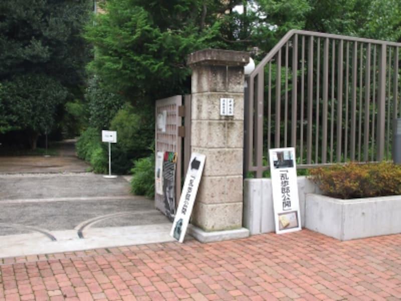 かつての江戸川乱歩の家が公開されている