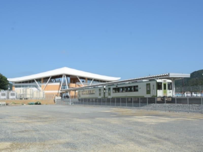 女川駅発の列車