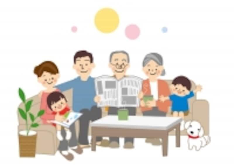 祖父母の体調や生活スタイルに合わせて住み方を変えてもいいね!