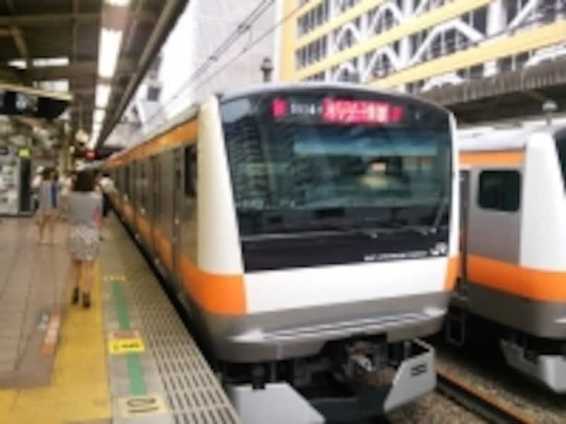 東京と武蔵五日市を直通するホリデー快速あきがわ