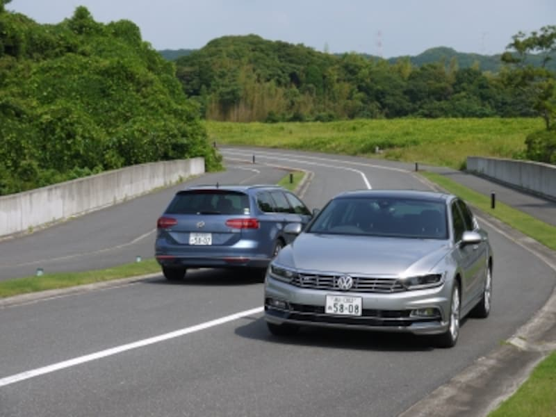 新型パサート/パサート・ヴァリアント