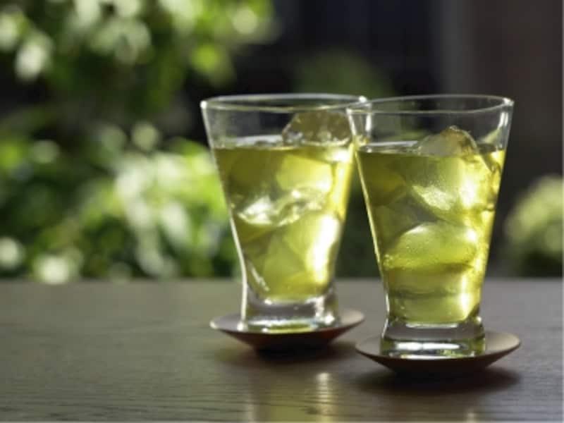 美味しい手作り冷緑茶,お茶