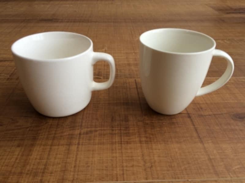 ダイソーとニトリのカップ