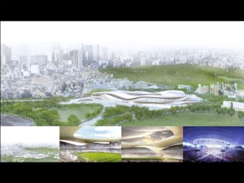 SANAA事務所+日建設計案の画像