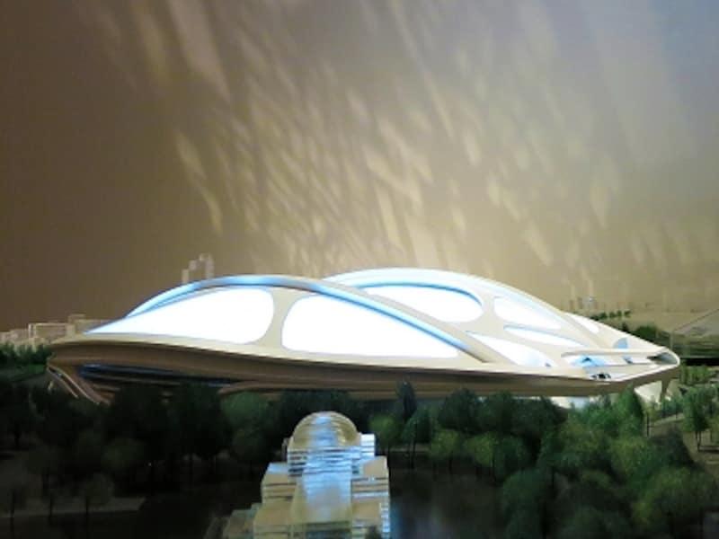 新国立競技場模型の画像