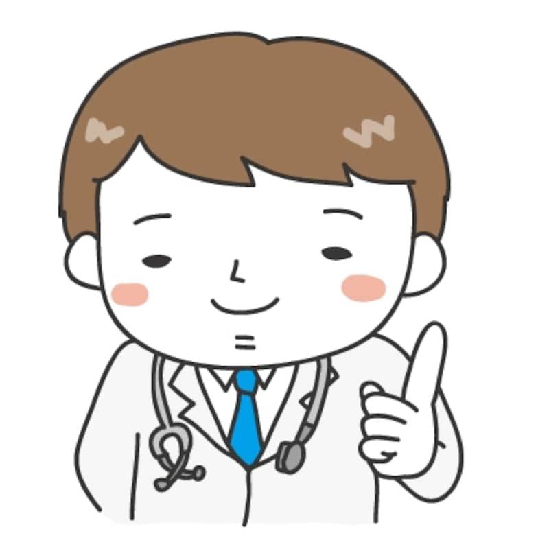 白黒 カラー 病院の可愛いイラストカット集 Web素材 All About