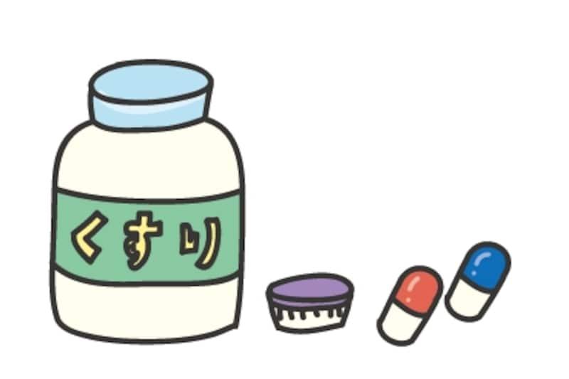 【カラー】薬のカットです。