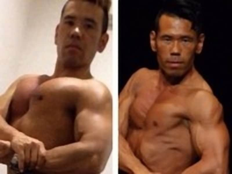 減量前:73kg→減量後:66kg