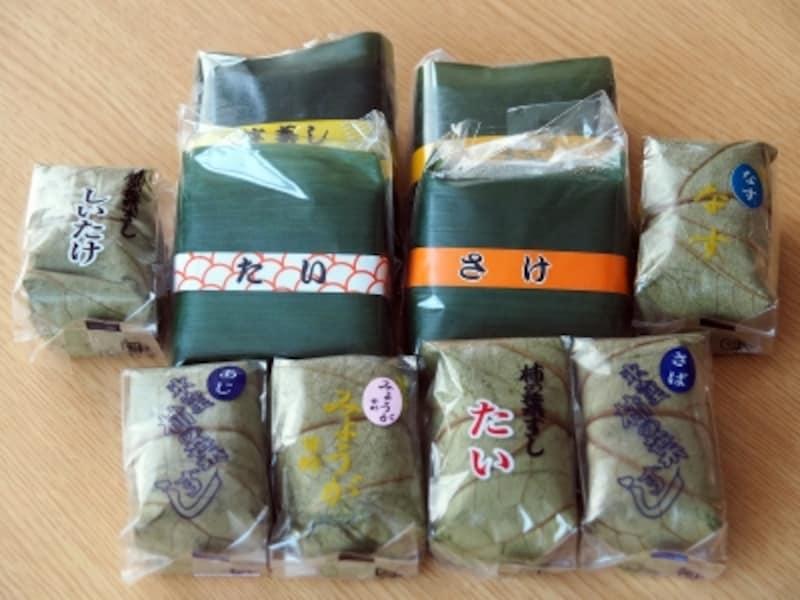 柿の葉寿司&笹寿司@金澤玉寿司