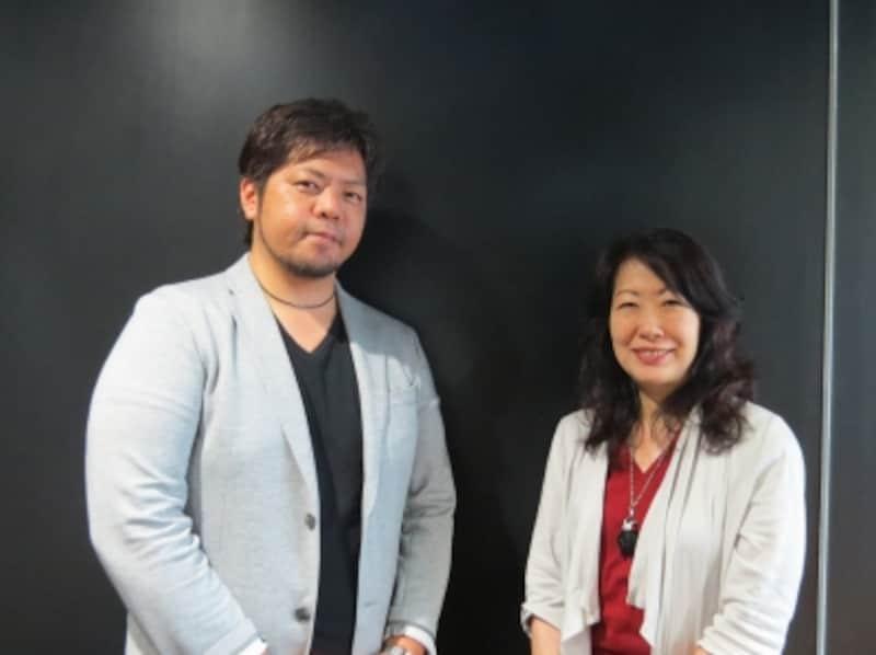 HAL探偵社代表・浅見俊祐氏(左)