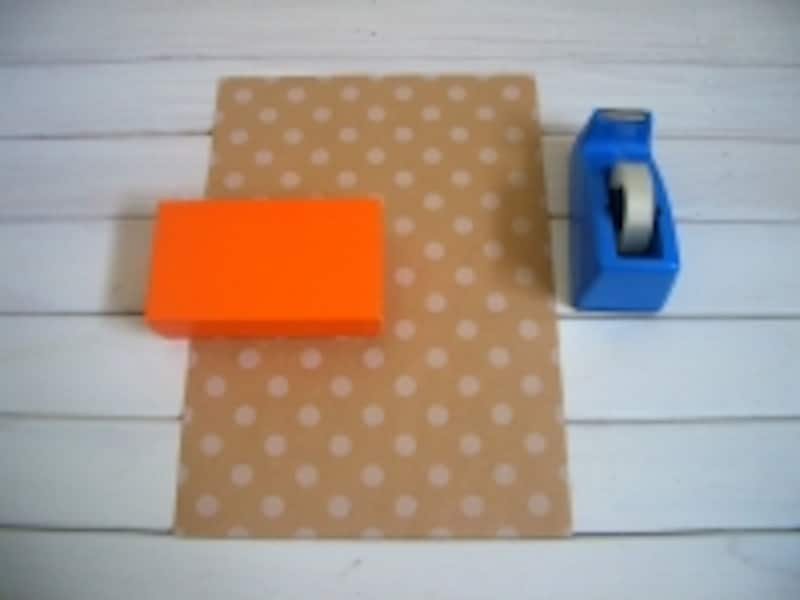 包装紙の包み方!斜め包み/デパート包みの材料