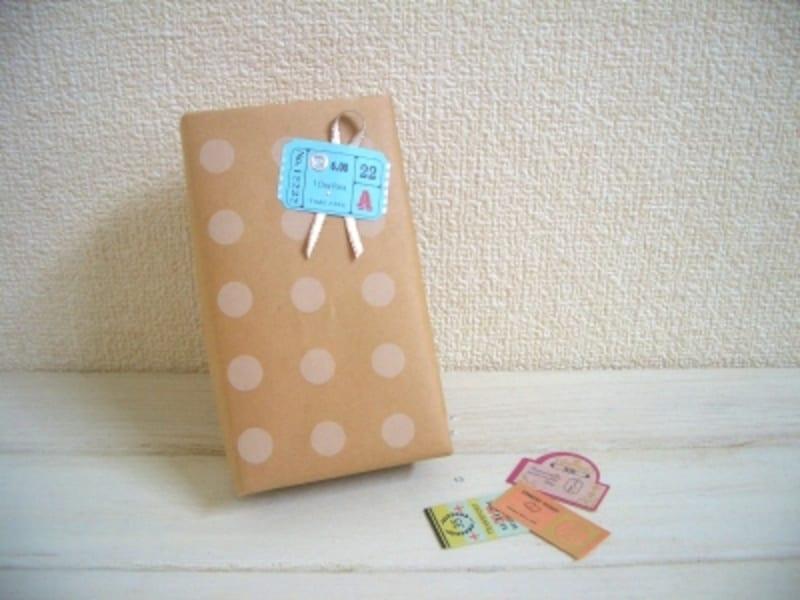 包装紙の包み方!斜め包み/デパート包みは、きっちり仕上げるのは少々難しいけれど、慣れると手早く包むことが出来ます。