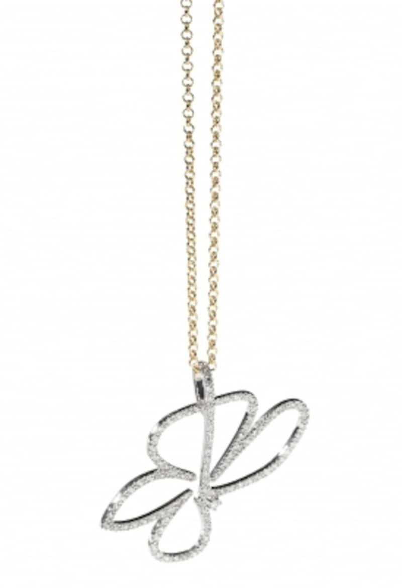 ダイヤモンド・ホワイトゴールドのネックレス