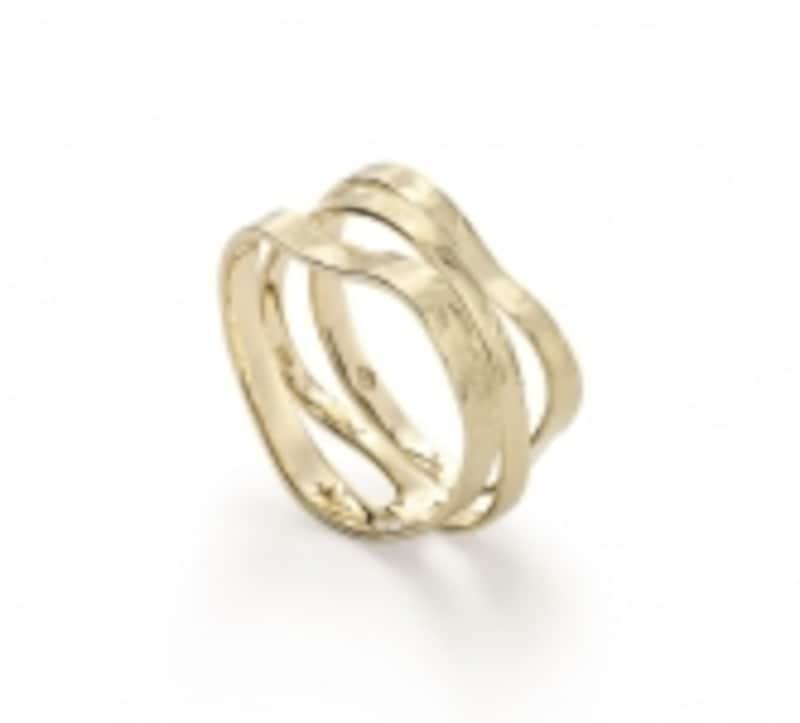 イエローゴールドの指輪