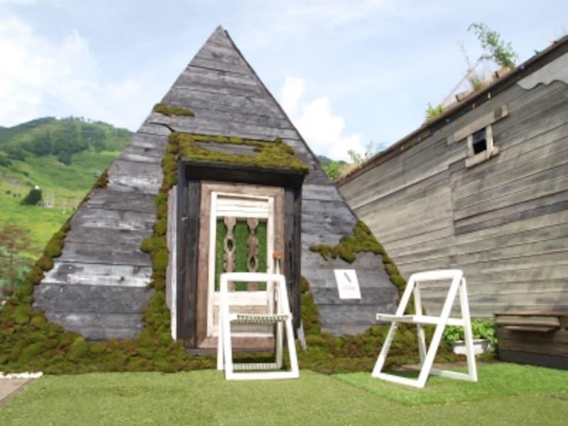 ピラミッド型サウナ
