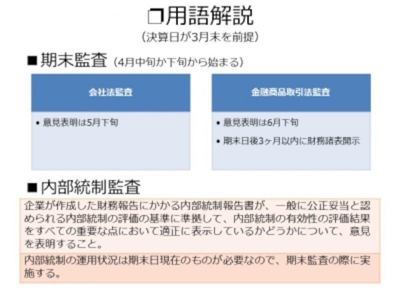 【図表1undefined監査・レビューの大まかな流れ】