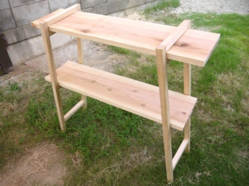 DIYでキャンプに便利な棚作り!アウトドアにも使える棚の自作方法