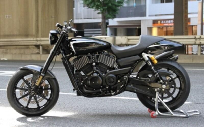 ストリート750カスタムモデル#02ハーレーダビッドソン新宿