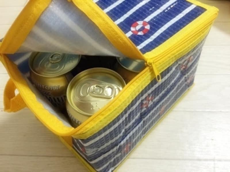 100円グッズの保冷バッグは常備すべし
