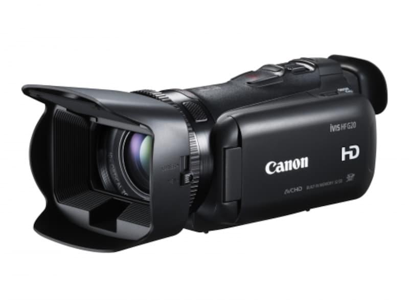 キヤノンフルハイビジョンビデオカメラ「HFG20」