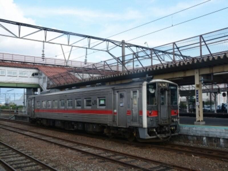 留萌本線の列車