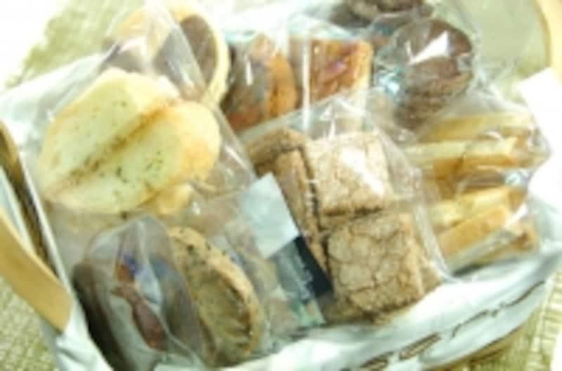 個別包装されたお菓子は王道