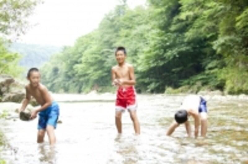楽しい夏休みですが……/イメージ