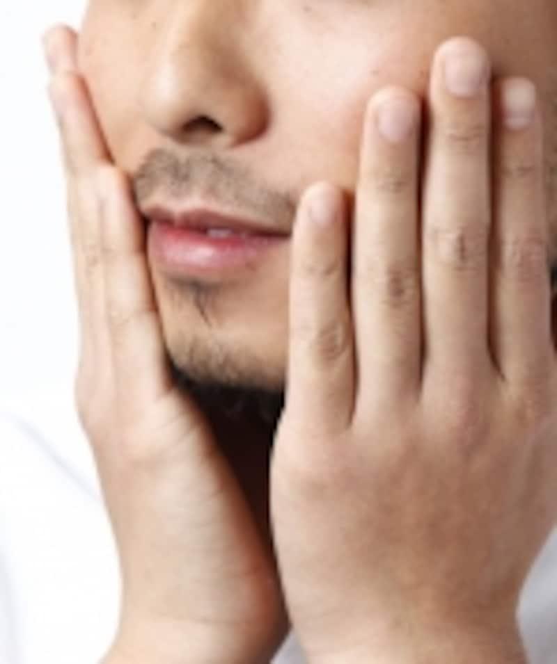 ヒゲ剃り後のPH