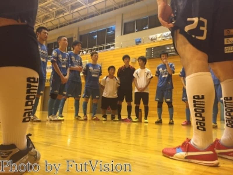 知的障がい者フットサル日本代表undefined練習風景