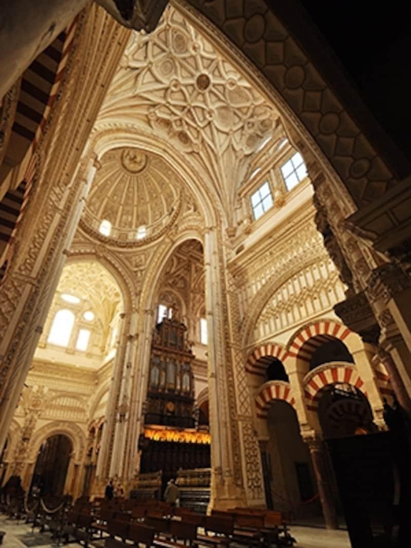 メスキータ、中央礼拝堂の翼廊