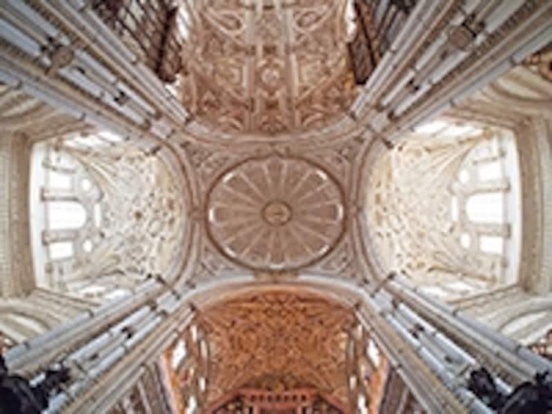 中央礼拝堂の天井