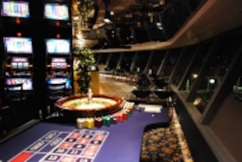 現金はNGですが、本格的なカジノ施設もあります(ぱしふぃっくびーなす)
