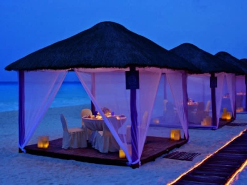 素敵なロケーションのレストラン、カシータ。パラパのなかでロマンティックディナーを