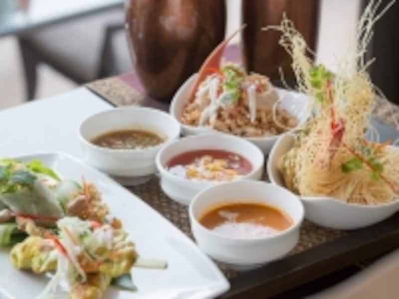 甘辛酸味のバランスが命のタイ料理をリゾートで堪能しよう