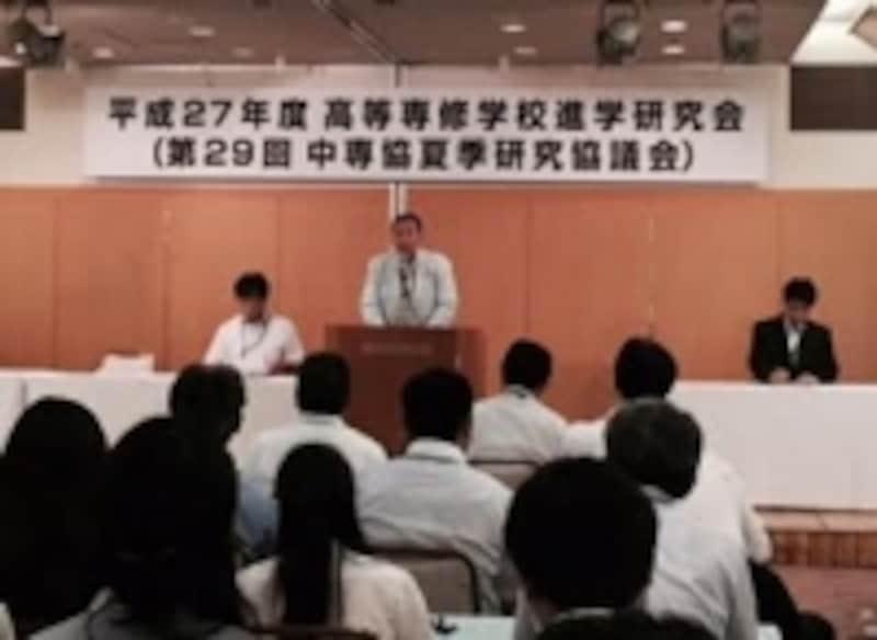NPO高等専修教育支援協会理事長堀居先生ご挨拶