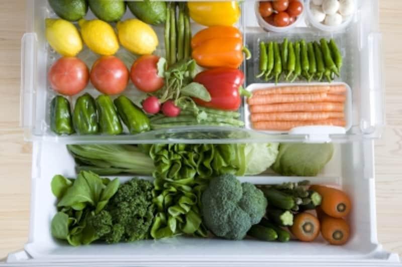 常温保存では心配なものも、とりあえず野菜室に詰め込めば安心?
