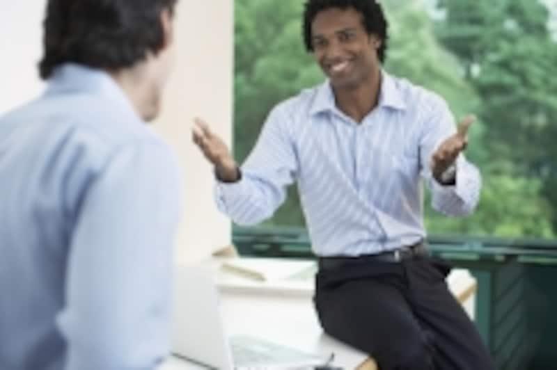 男性同士の会話
