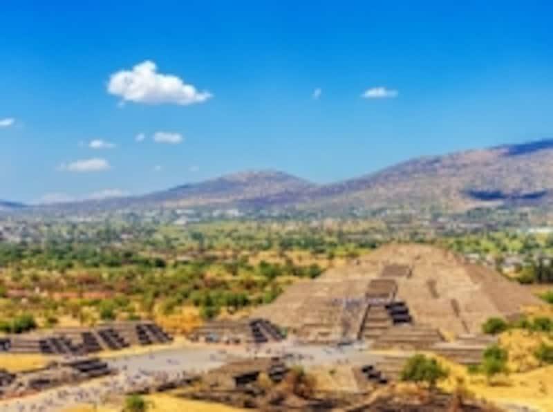 テオティワカン遺跡「太陽のピラミッド」