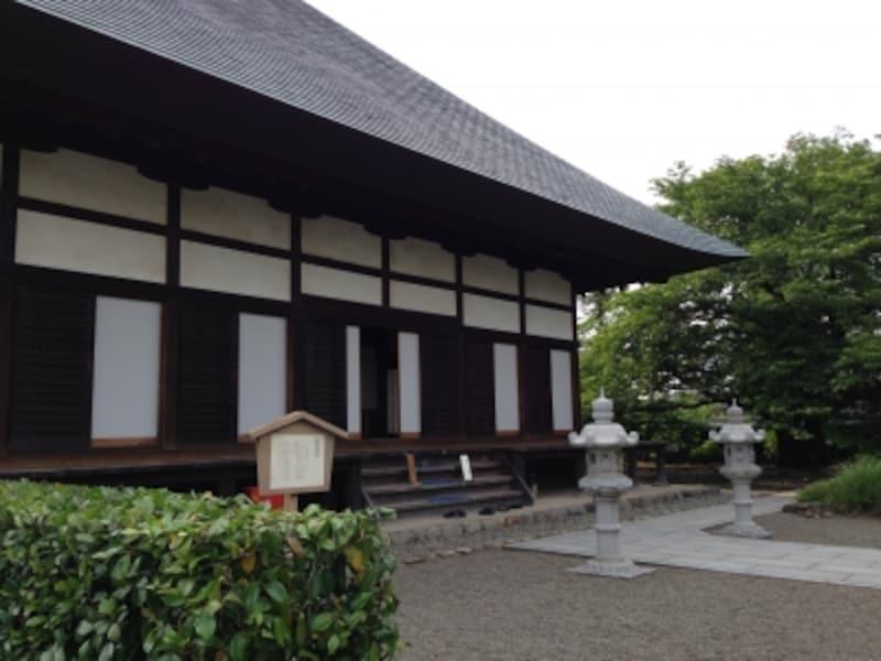 満徳寺本堂