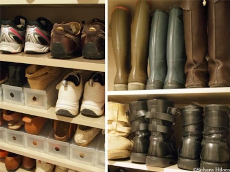 靴の収納法