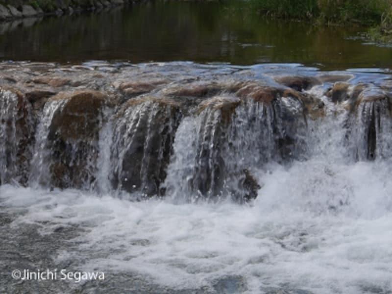 川の流れ撮影