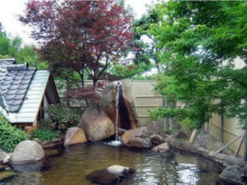 初花の温泉