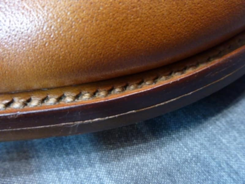 紳士靴のウェルトの種類