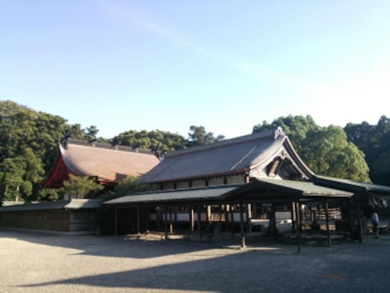 宗像大社・辺津宮(1)/本殿・拝殿
