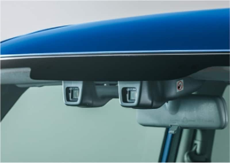 ステレオカメラ方式の衝突被害軽減システムであるデュアルカメラブレーキサポート