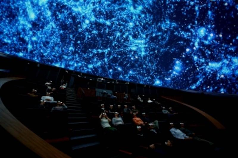 ドームシアターガイアの立体視映像