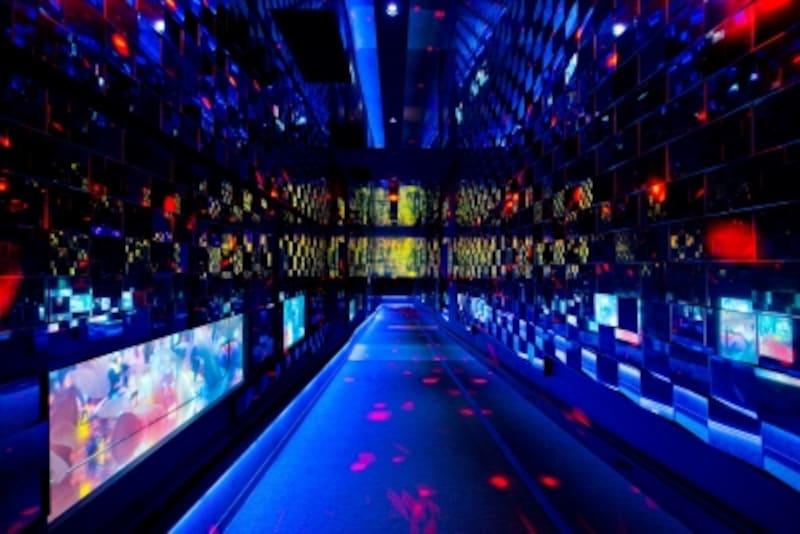 クラゲ万華鏡トンネルの夜バージョン