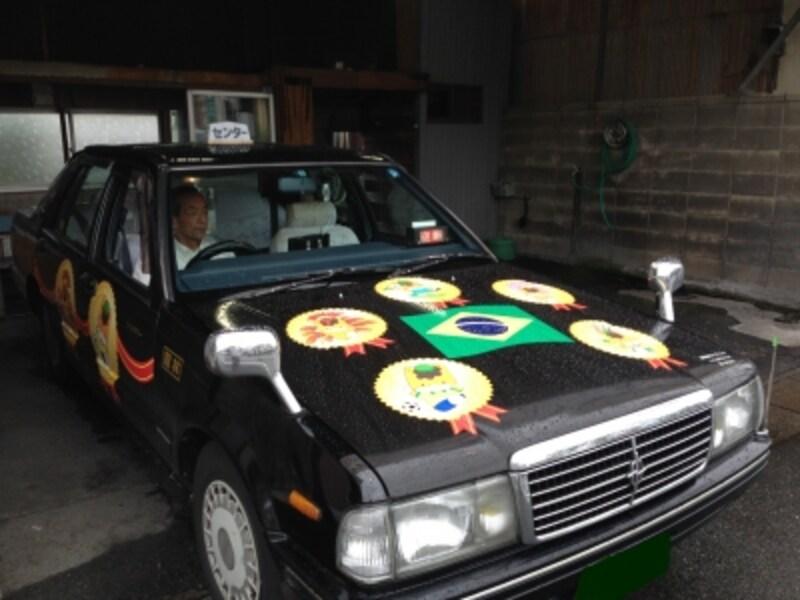 大泉町のタクシー
