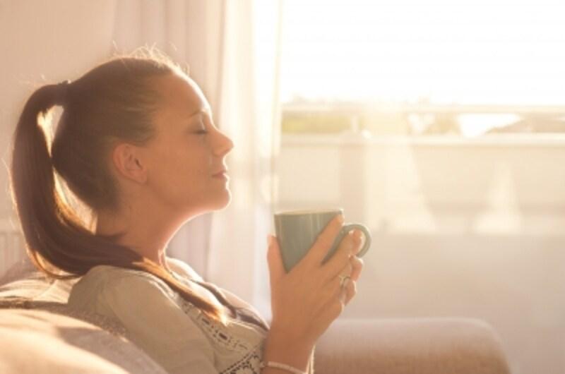 朝のコーヒー・目覚めの一杯
